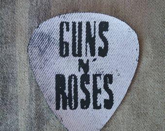 Patch Guns N Roses plectrum