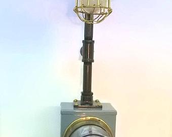 Electric meter lamp | Etsy