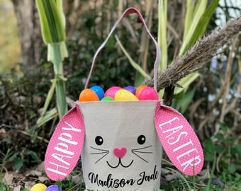Personalized Easter Egg Basket