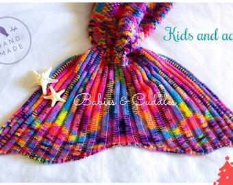 Mermaid Tail, Mermaid Tail Blanket, Adult Mermaid Tail, Kids Mermaid Tail, Best Selling Item,unique gift, Gift for her, Easter Basket
