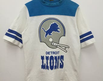 Vintage World Sports American Football Detroit Lions T-shirt