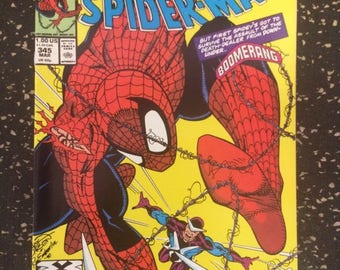 The Amazing Spider-Man # 345 Comic - By Marvel Comics