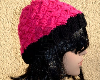Knitting Cap Pink