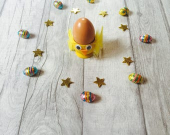 Easter Chirpy Chick Egg Cup, Easter Gift, Easter Craft Kit