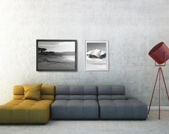 nature poster set black and white wall art set black and white gallery wall