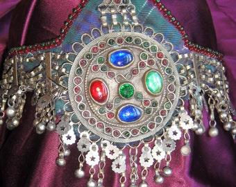 Vintage Afghan Kuchi Tribal Headpiece