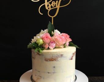 birthday boy cake topper,birthday cake topper, Custom Cake Topper, Personalized Cake Topper for Birthday