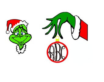 The Grinch who Stole Christmas SVG Cut Files Instant Download
