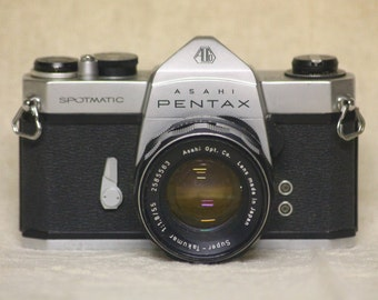 Pentax Asahi Spotmatic Retro Film Camera
