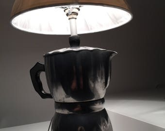 Gorgeous handmade single piece lamp