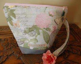 Paris Knitting Project bag, small