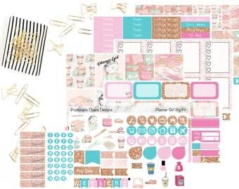 Planner Girl Big Kit, planner stickers