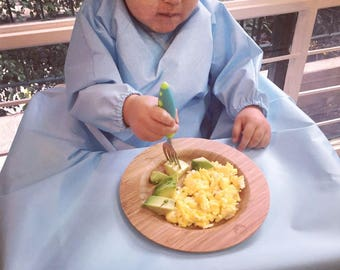 Yuri Bib - Baby and HighChair cover for mess-free meals!