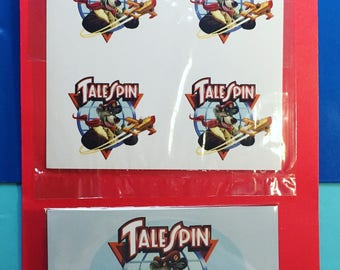 Talespin Stickers & Magnet (Set)