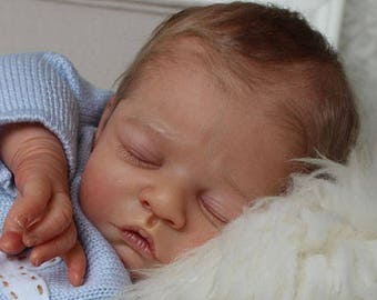 Levi by Heike Kolpin Limited Edition Reborn Babies. Lifelike Custom OOAK. Girl Boy Baby Doll. JULY 2018 Orders. Payment Options Available!