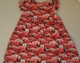Girls' Cars Dress