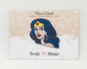 Wonderwoman Needle Minder