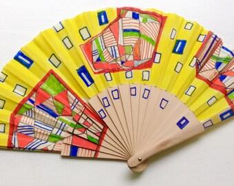 Unique hand fan design 10