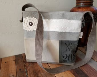 Canvas / Denim Handbag