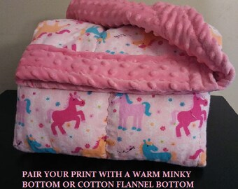Pony Weighted Blanket for kids, child, toddler, teen