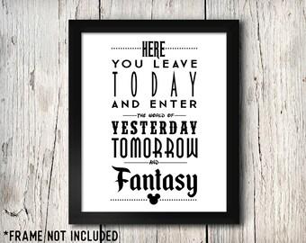 A World of Yesterday Tomorrow and Fantasy, Disney Family, Disney Couples, Disney Kids, Tomorrowland, Disney Art, Disney World, Magic Kingdom