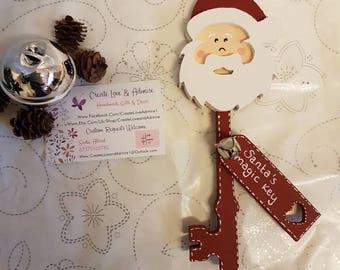 Santa's Magic Key Father Christmas Christmas Eve Magic Key for Santa Keys Christmas Key Christmas Eve box Decoration Father Christmas Key