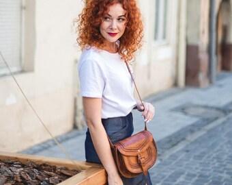 Blifart, handmade leather bag, leather bag for women, handmade bag, vintage bag, shoulder bag, BOLSON BAGS