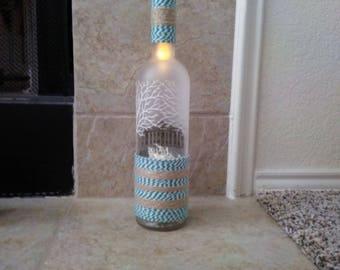Specialty LED Bottle Light Jade/White/Brown