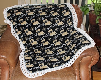 New Orleans Saints Baby, Toddler Blanket