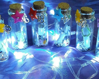 Personalised birthday message in a bottle 13th 16th 18th 21st 30th 40th 50th keepsake