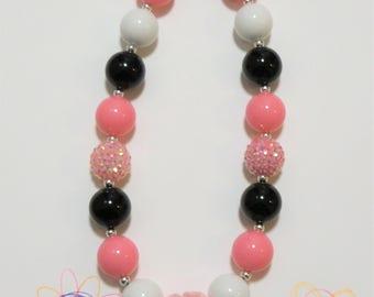 Little Girls Chunky Necklace, Bubblegum Necklace, Toddler Necklace, Girls Jewelry, Chunky Bubblegum Necklace,