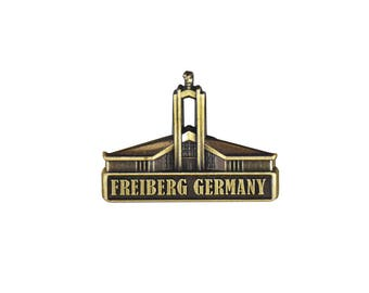 Freiberg Germany Temple Gold Pin - LDS Gifts