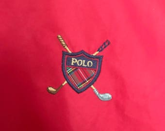 Vintage Polo Ralph Lauren Golf Pull Over