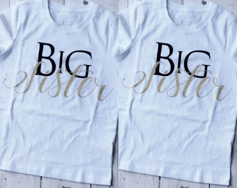Big Sister Shirt by LoveJo&Co for Kids ~Sizes 2T - 5T ~ Free Shipping