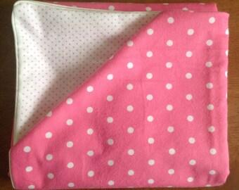 Play yard sheet Pink Dots