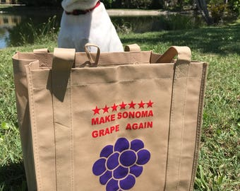 Wine and Food Tote Bag