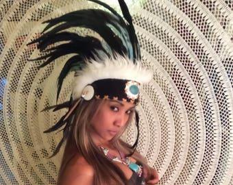 Bonnet, War Bonnet, Indian headdress, kenai