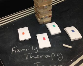 Family Therapy Jenga Digital Copy