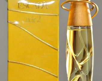 Escada Acte 2 Eau De Parfum Edp 50ML 1.7 Fl. Oz. Spray Perfume Woman Rare Vintage Old  1994