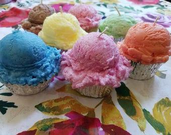 Cupcake Candles Wedding Favors