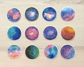 Galaxy Constellation Stickers