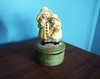Vintage Music Box Raindrops Keep Falling On My Head Children