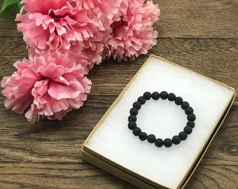Mothers Day Lava Bead Bracelet, Diffuser Bracelet, Essential Oil Diffuser Bracelet, Mothers Day Gift For Mom, Essential Oil Gifts