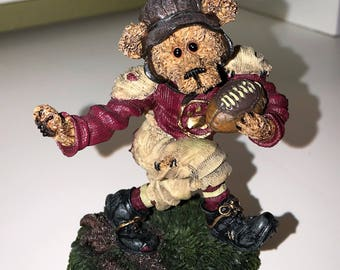 Boyds Bearstone - T.D. Gridiron...Touch Down!  Football