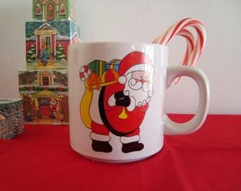 Vintage COTC Korea - Santa Claus Christmas Holiday Mug Coffee Cup