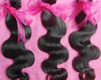 8A Unprocessed Brazilian Peruvian Malaysian Virgin Human Hair Body Wave Weave Thick bundles 3pcs/lot