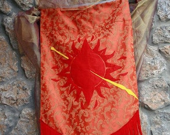 HOUSE MARTELL Banner - Game of Thrones Sigil