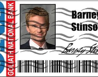 Barney Stinson Goliath Bamk Badge