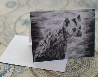 """Charcoal Notecard Set of 5 - 5.5""""x4"""""""