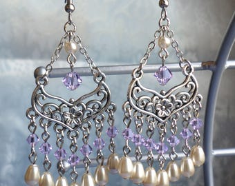 Grand Crystal Chandelier Earrings